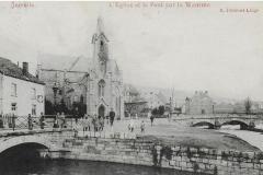 L'église et le pont sur la Wamme